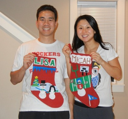 Make your own Christmas stockings | Much Ado About Lisa