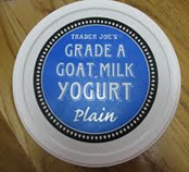 goat milk yogurt