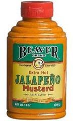 Beaver-JALAPENO-HOT-MUSTARD
